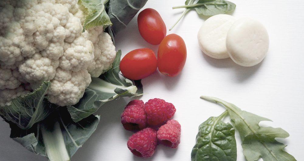 overcrowd your menu - veggies