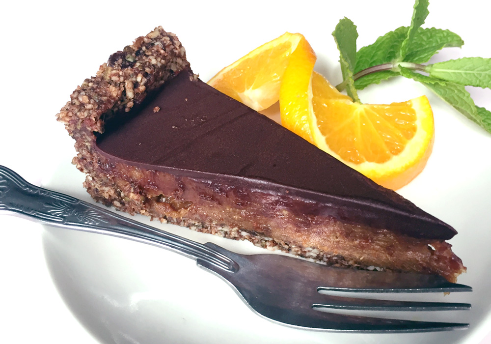 Raw Cake at Hula Juice Cafe