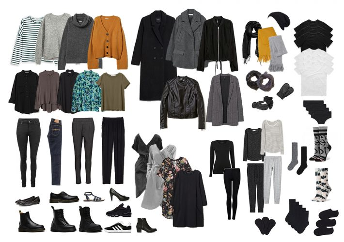 The Ultimate Capsule Wardrobe